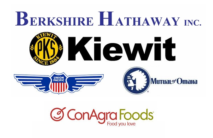Omaha's fortune 500 companies, including Berkshire Hathaway.