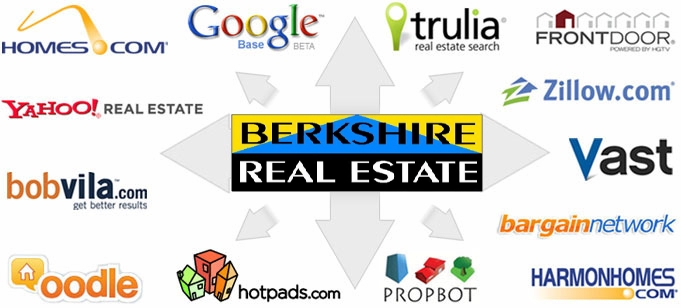 High Traffic Web Sites our sellers homes can be seen on.